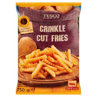 Tesco Crinkle Cut Fries 750 g