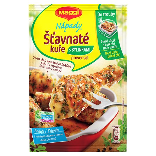 MAGGI Nápady Juicy Chicken with Provence Herbs 34 g