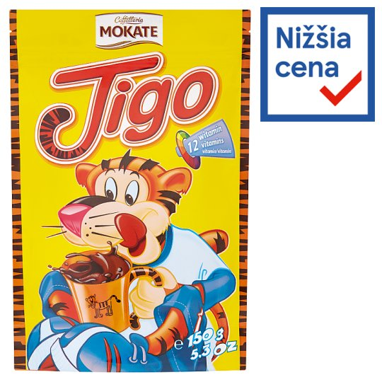 Mokate Caffelleria Tigo Instant Mix for Cocoa Drink 150 g