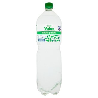 Tesco Value Lightly Carbonated Soda Water 2 l