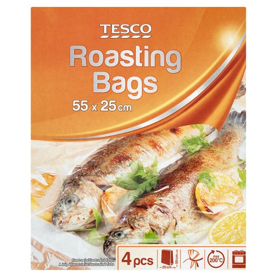 Tesco Roasting Bags 4 pcs