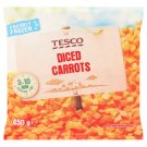 Tesco Diced Carrots 450 g