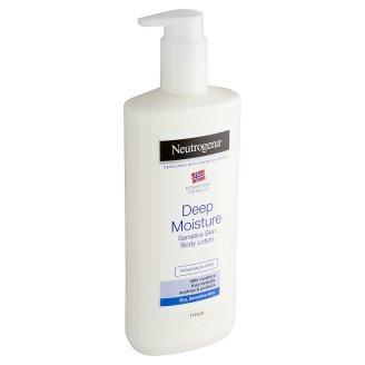 Neutrogena Hĺbkovo hydratačné telové mlieko pre citlivú pokožku 400 ml
