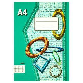 Papírny Brno 445e štvorčekovaný zošit A4 40 listov