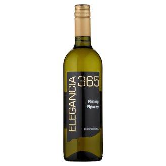 Elegancia 365 Rizling Rýnsky Wine Dry White Wine 0.75 L