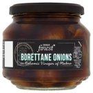 Tesco Finest Cibuľky Borettane v octovom náleve s extra panenským olivovým olejom 300 g