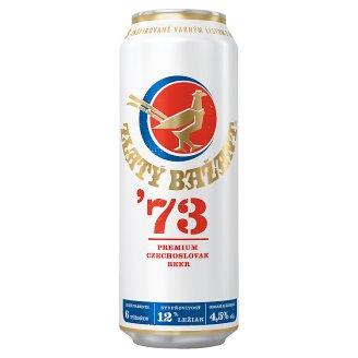 Zlatý Bažant '73 Light Lager Beer 500 ml