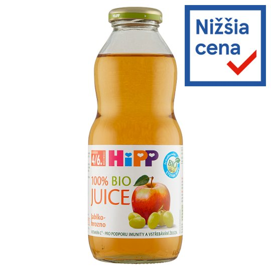 HiPP 100% Organic Apple-Grape Juice 0.5 L