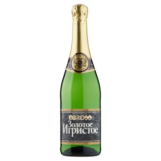Zolotoe Bolšoe Alkoholický nápoj na báze ovocného vína sýtený 0,75 l