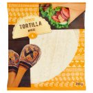 Tesco Tortilla Wheat 4 x 62.5 g