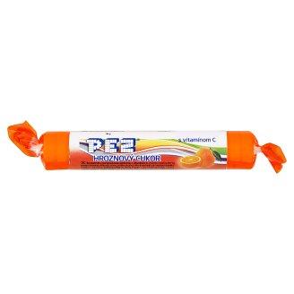 Pez Hroznový cukor s pomarančovou príchuťou s vitamínom C 39 g