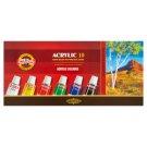 KOH-I-NOOR Acrylic Colours 10 x 16 ml