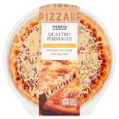 Tesco Quattro Formaggi Pizza 348 g