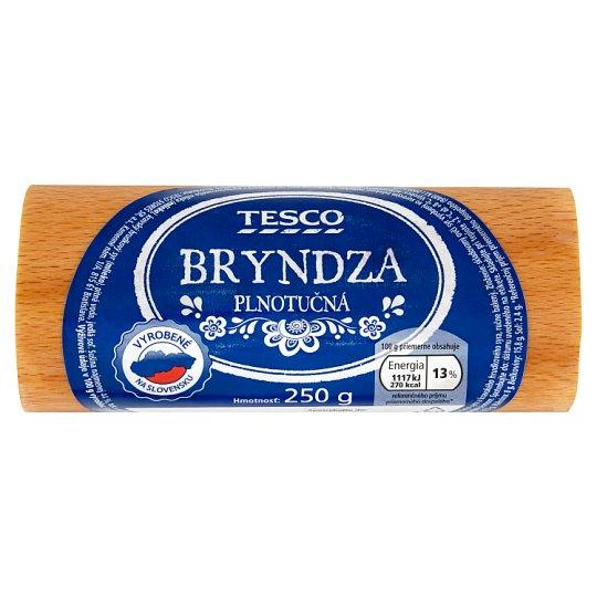 Tesco Bryndza plnotučná 250 g