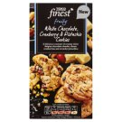 Tesco Finest White Chocolate Cranberry & Pistachio Cookies 200 g
