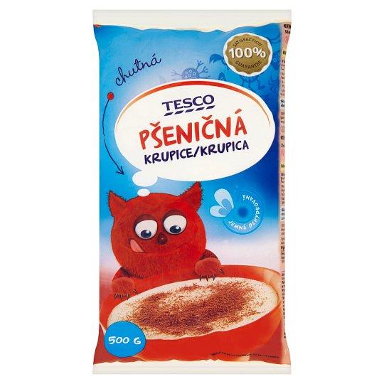 Tesco Fine Dehydrated Wheat Semolina 500 g