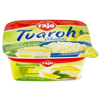 Rajo Curd with Lemon Flavoured Cake 250 g