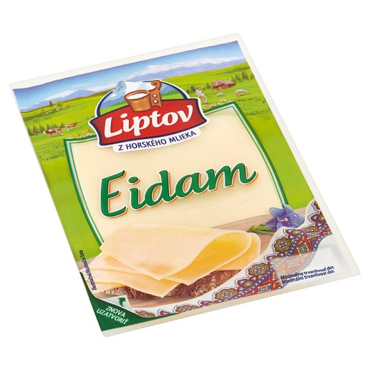 Liptov Edam - Cut Slices Non-Smoked 100 g