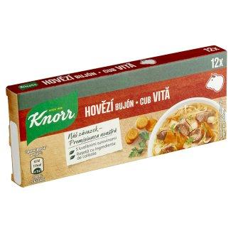 Knorr Hovädzí bujón 12 x 10 g