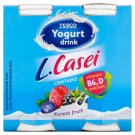 Tesco Yogurt Drink with Forest Fruit Flavour and L. Paracasei 4 x 100 g