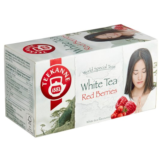 TEEKANNE White Tea Red Berries, World Special Teas, 20 Tea Bags, 25 g