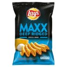 Lay's Maxx Fried Potato Chips Flavoured with Cheese and Onions 140 g