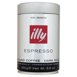 illy Espresso tmavo pražená mletá káva 250 g