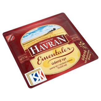 Záhorácky Syr Havran Ementaler Smoked Cheese Slices 100 g
