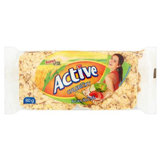 Bona Vita Active Whole-Grain Corn Breads 80 g