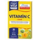 MaxiVita Vaše Zdraví Vitamin C + Zinc 30 Tablets 22.8 g