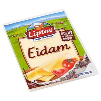 Liptov Eidam - porciované plátky údené 100 g
