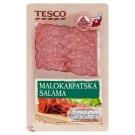 Tesco Malokarpatská saláma nárez 75 g