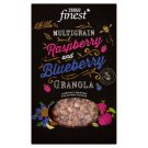 Tesco Finest Multigrain Raspberry and Blueberry Granola Muesli 500 g