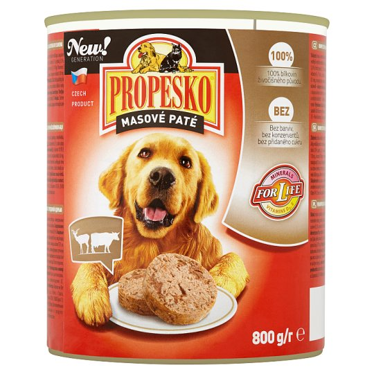 Propesko Complete Food for Adult Dogs with Beef and Venison 800 g