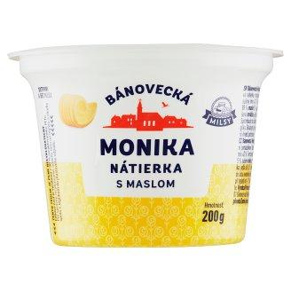 Milsy Monika smotanová Bánovecká s maslom 200 g