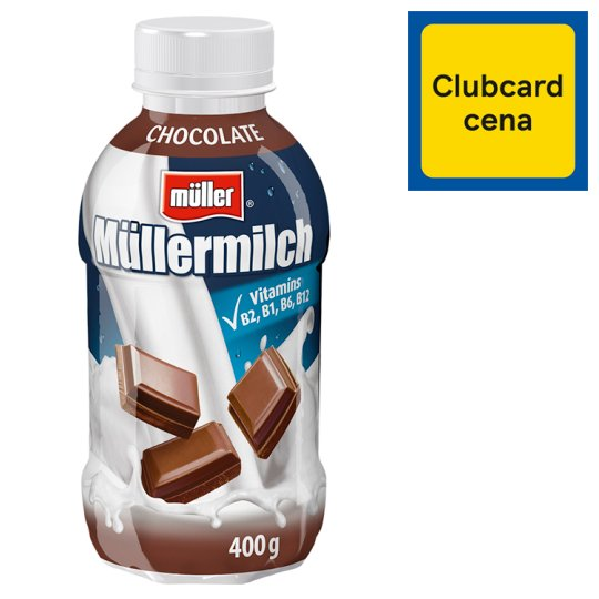 Müller Müllermilch Mliečny nápoj s čokoládovou príchuťou 400 g