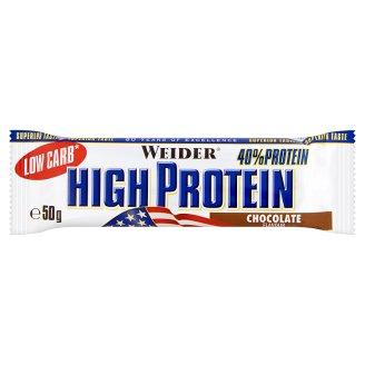 Weider High Protein Proteínovo sacharidová tyčinka príchuť čokoláda 50 g