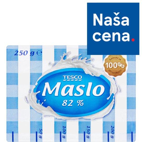 Tesco Maslo 82 % 250 g