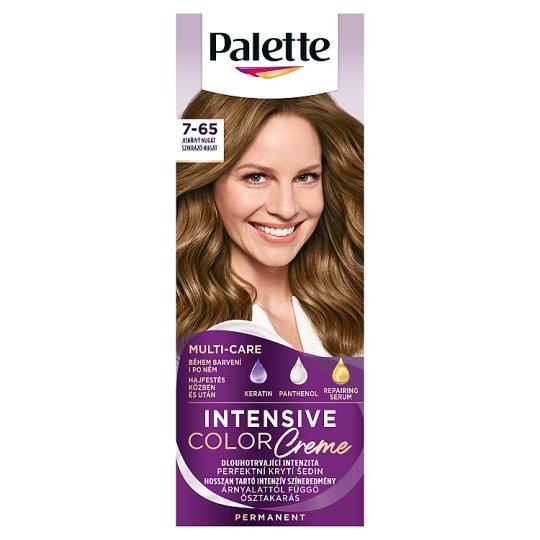 Schwarzkopf Palette Intensive Color Creme farba na vlasy Trblietavý Nugát 7-65 (LG5)