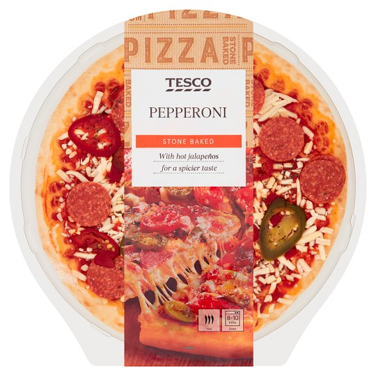 Tesco Pepperoni pizza 388 g