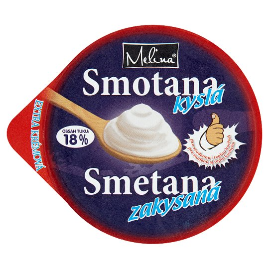 Melina Sour Cream 18 % 200 g