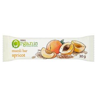 Tesco Organic Müsli tyčinka s marhuľami 30 g