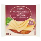 Tesco Processed Cheese Slices Cheddar 8 x 18.75 g