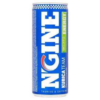 N-Gine Kubica Team Mojito sýtený energizujúci nápoj 250 ml