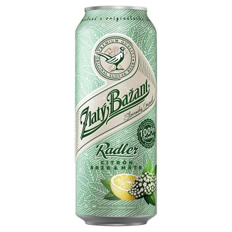 Zlatý Bažant Radler Elder Lemon Mint Mixed Alcoholic Drink 500 ml