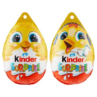 Kinder Surprise Sweet Egg with Milk Chocolate - with Surprise 20 g
