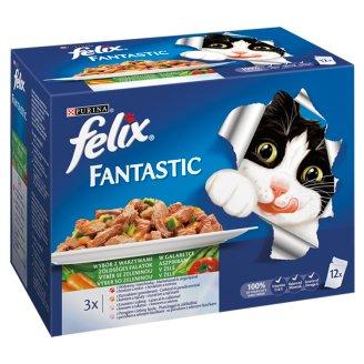 FELIX Fantastic výber so zeleninou 12 x 100 g