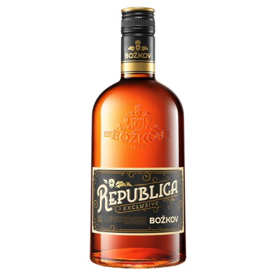 Božkov Republica Exclusive 38 % 0,7 l