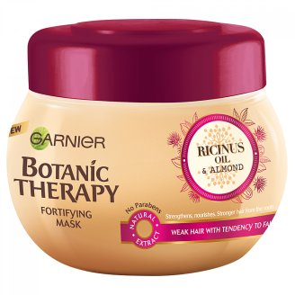 Garnier Botanic Therapy Ricinus Oil & Almond maska na slabé vlasy 300 ml