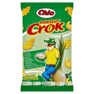 Chio Master Crok kukuričný snack s príchuťou kyslej smotany s cibuľkou 40 g